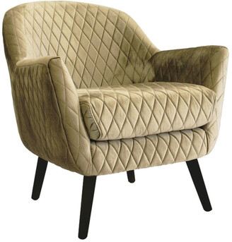 Darcy And Duke Club Chair Vintage Gold With Black Legs