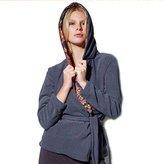 Freya Lounge Women's Sadie Hooded Bath Robe Charcoal XL