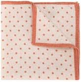 Eleventy polka dot pocket square scarf