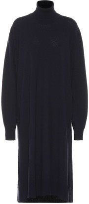 Jil Sander Wool and cashmere sweater dress