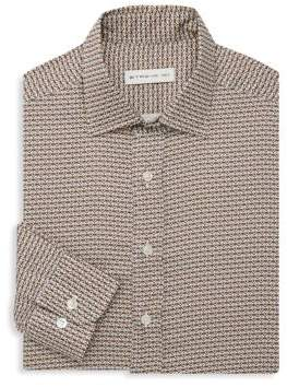 Etro Medallion Cotton Casual Button-Down Shirt