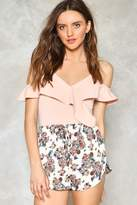 Nasty Gal nastygal Got It Growing On Floral Shorts