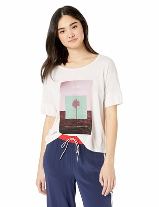 RVCA Women's Horizon Drapey Short Sleeve T-Shirt