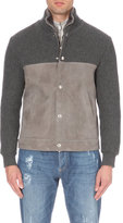 Brunello Cucinelli Cashmere And Shearling Jacket