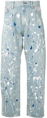 Junya Watanabe Paint Splatter Jeans