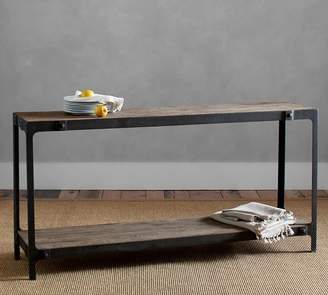 Pottery Barn Clint Reclaimed Wood Console Table