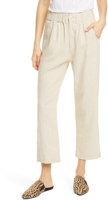 The Great The Sea Linen & Cotton Trousers