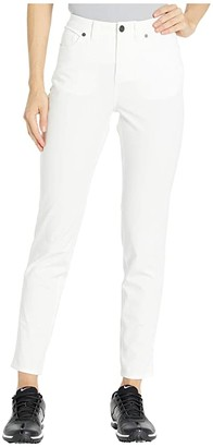 Nike Fairway Jean Pants Slim (White/White) Women's Jeans