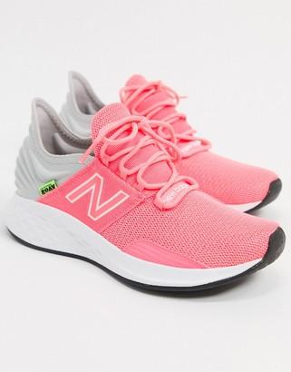 New Balance Running roav trainers in pink