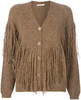 Mes Demoiselles fringed cardigan