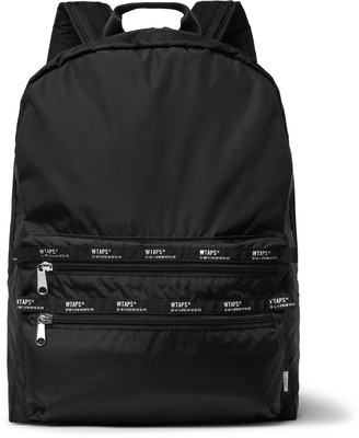 WTAPS Logo-Appliqued Ripstop Backpack