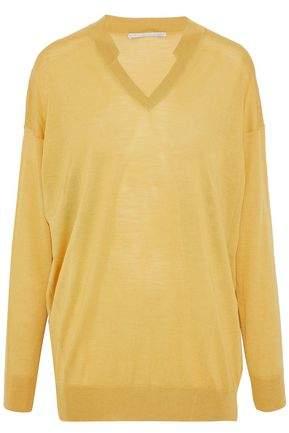 Stella McCartney Stretch-Knit Wool And Silk-Blend Top