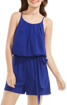 Vince Camuto Pleated Romper