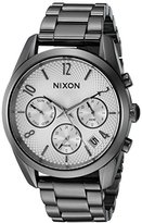 Nixon Women's A9492225-00 Bullet Chrono 36 Analog Display Japanese Quartz Silver Watch