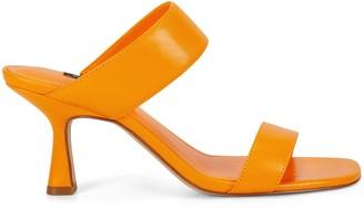 Nine West Net Heeled Sandals