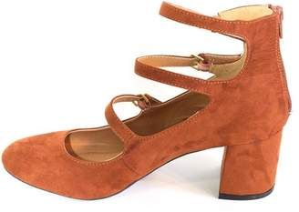 Qupid Block Heel Pump
