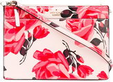 Kate Spade floral print crossbody bag - women - Polyester/Polyurethane - One Size