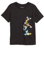Mighty Fine Toddler Boy's Disney Pocket Spill Graphic T-Shirt