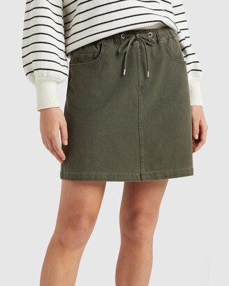 French Connection Women's Skirts - Casual Stretch Skirt - Size One Size, 16 at The Iconic
