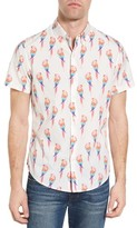 Bonobos Men's Slim Fit Parrot Print Sport Shirt
