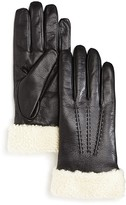 The Men's Store at Bloomingdale's Shearling Cuff Gloves