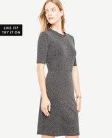 Ann Taylor Ruffle Neck Sheath Dress