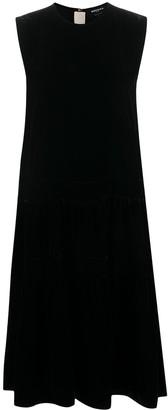 Rochas Sleeveless Velvet-Effect Dress