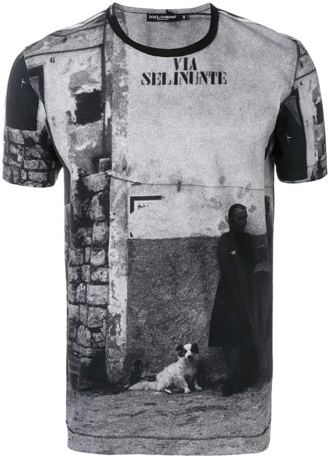 Dolce & Gabbana street print T-shirt