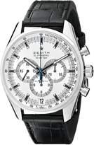 Zenith Men's ZE03204040004C496 El Primero Analog Display Swiss Automatic Black Watch
