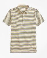 Brooks Brothers Feeder Stripe Polo Shirt