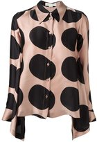 Stella McCartney large polka dot blouse