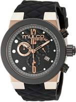 Mulco Men's MW5-2552-023 Couture Analog Display Swiss Quartz Watch