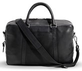 Shinola Men's Leather Briefcase - Black