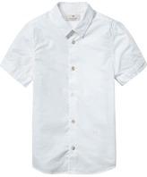 Scotch & Soda Short Sleeved Dress Shirt
