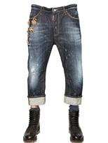 DSquared 20cm Cool Guy Rookie Wash Denim Jeans