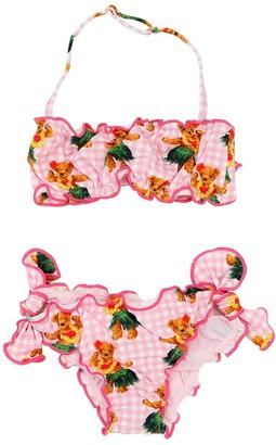 MC2 Saint Barth Bear Print Lycra Bikini