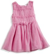 GUESS Tulle Ruffle Dress and Bloomers Set (0-9m)