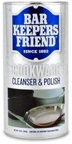 Bar Keepers Friend COOKWARE Cleanser & Polish Powder - 12 Oz. Each Can - 1-Pack