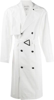 Bottega Veneta Double-Breasted Belted Trench Coat