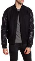 Rogue Snap Button Zip Up Outerwear Jacket