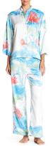 Natori Lian Shirt & Pant Pajama Set