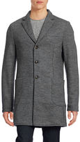 Tommy Hilfiger Knit Wool-Blend Overcoat