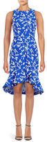 Shoshanna Floral High-Low Dress