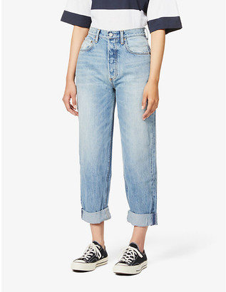 Boyish The Toby wide mid-rise jeans