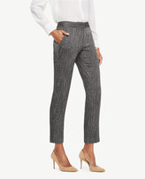 Ann Taylor The Petite Ankle Pant In Herringbone - Devin Fit