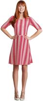 Donna Morgan D3199M Wavey Stripe Jersey Dress