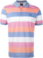 Paul & Shark striped polo shirt - men - Cotton - XXL