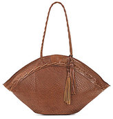 Patricia Nash Woven Collection Trope Tasseled Dome Tote