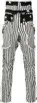 Faith Connexion stars and stripes trousers - men - Silk - M
