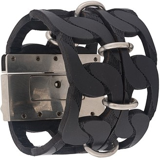 Gianfranco Ferré Pre-Owned 2000s Cut-Off Chain Style Bracelet